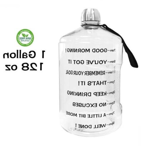 1 gallon water bottle reusable leak proof