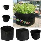 10 Pack Fabric Grow Pots Breathable Plant Bags 1,2,3,5,7,10