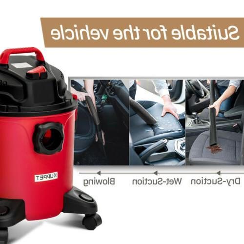 5.3 Gallon 3-in-1 Dry Vacuum Cleaner Shop 3.5 Peak with Red