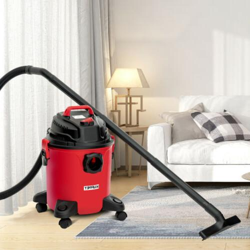 5.3 Gallon 3-in-1 Dry Vacuum Vac Shop 3.5 Peak with Red