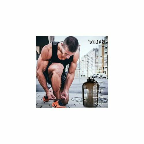 B4Life Gallon Bottle with Time Motivational