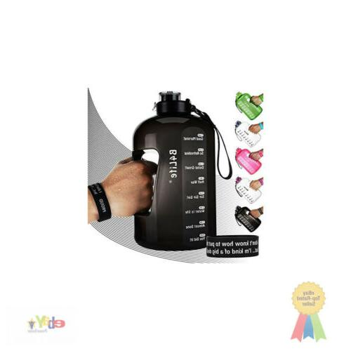 b4life 1 gallon water bottle with time