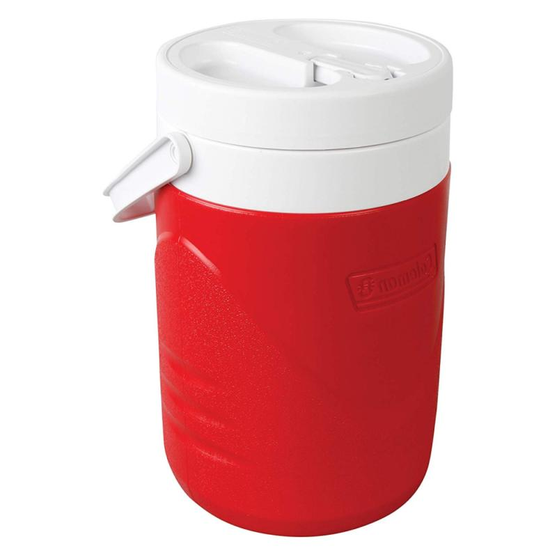 Beverage Jug Water Faucet Thermos Red