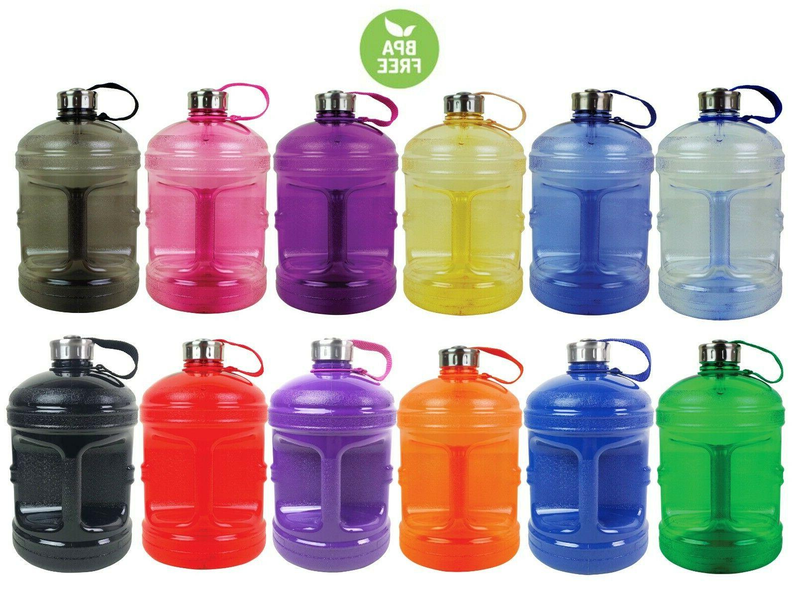 bpa free 1 gallon water bottle steel