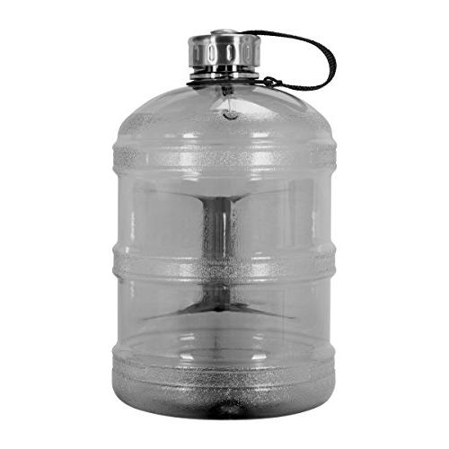 Geo Sports 1 Gallon Reusable Leak-Proof Drinking Bottle w/48mm Stainless