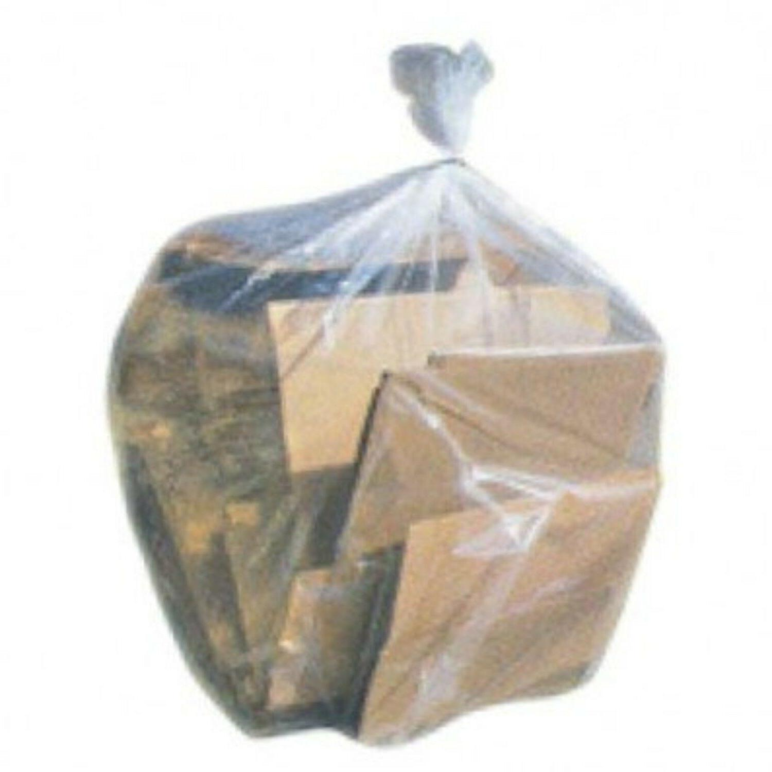 Plasticplace Clear Garbage Bags 33x39 33 Gal 100/case 1.2 Mi