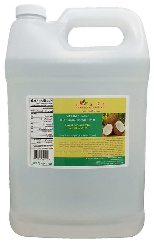 Verdana Coconut MCT Oil - Fractionated Coconut Oil - 1 Gallo