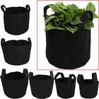 Fabric Pots Plant Pouch Root Grow Bag 1,2,3,5,7,10 Gallon Pl