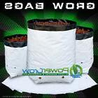 GROW BAGS - Plastic Black / White Poly Grow Bags 1-2-3-5-7-1