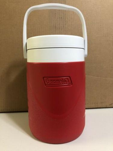 jug 1 gallon red