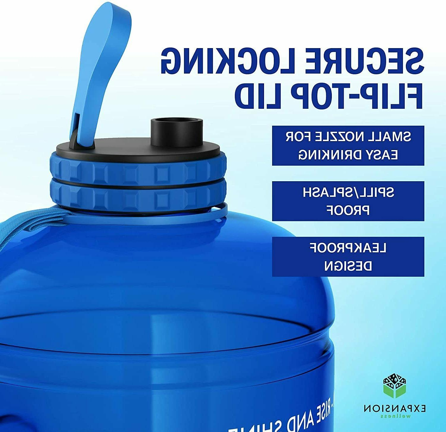 Large Water Jug Gallon Bottle with