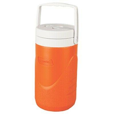 New Coleman 1/2 Gallon Beverage Cooler - Orange