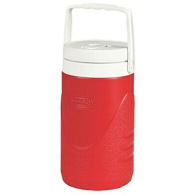 New Coleman 1/2 Gallon Beverage Cooler - Red