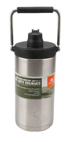 NEW Ozark Trail 1/2 Gallon Vacuum Insulated Stainless Steel