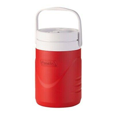 new 1 gallon beverage cooler red