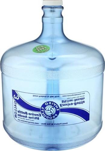 plastic drinking water bottle container