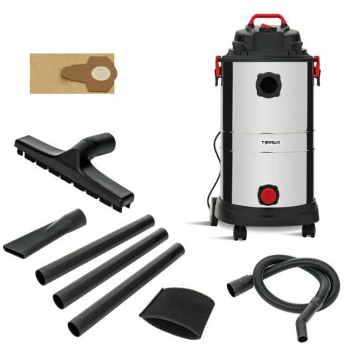 Portable 13.2 Gallon 4in1 Wet Vacuum Stainless