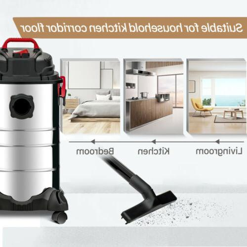 4in1 Portable Wet Vac Stainless Steel