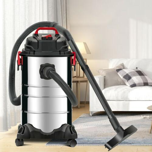 4in1 Portable 8 Gallon Wet Dry Vacuum Cleaner Vac Shop 3.5 H