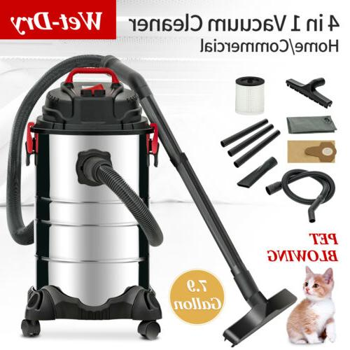portable 8 gallon 4 in 1 wet