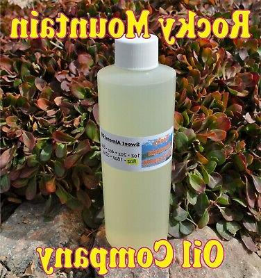 pure organic sweet almond oil cold pressed