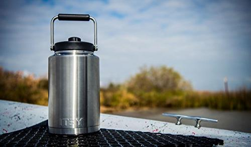 YETI Stainless Jug with MagCap, Steel