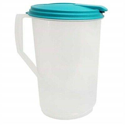 round pitcher lid hinged spout