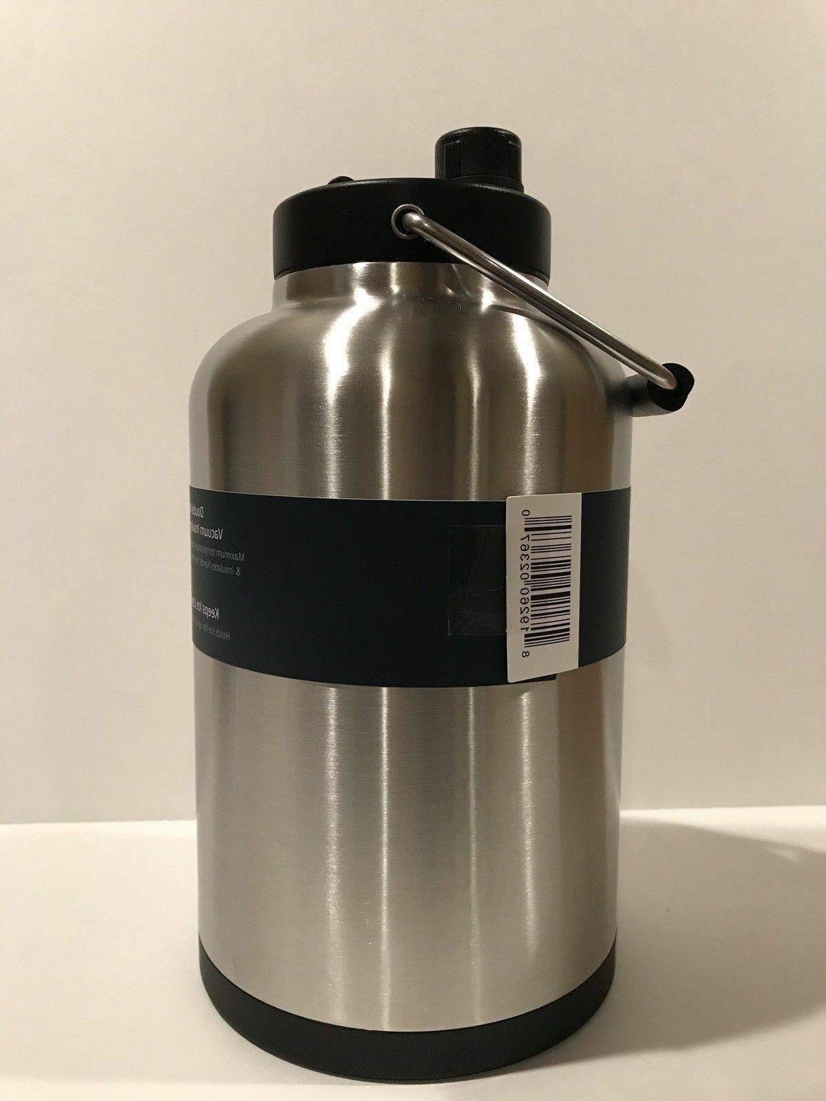 RTIC One Gallon Jug, Stainless, the Ice Half Price