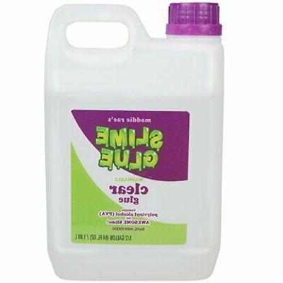 Slime Making Clear Glue - 1/2 Gallon Value Size - Non Toxic,