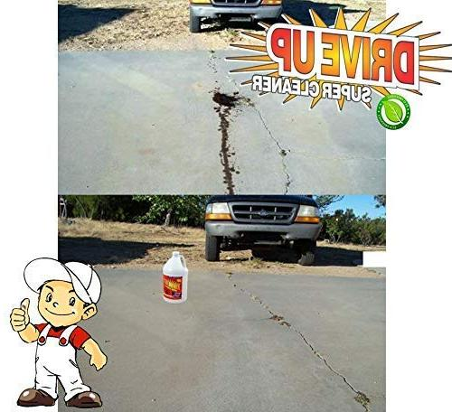 Drive Concentrated Degreaser, Driveway All Friendly Cleaner - Bottle