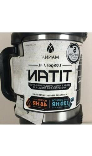 Manna Titan Steel 1 Gallon for camping