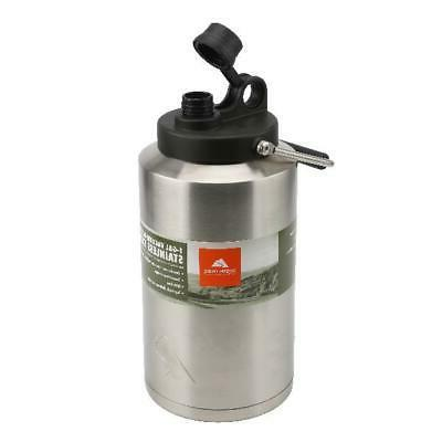 stainless steel water jug 1 gallon double