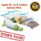 vacuum sealer system bags seal a meal