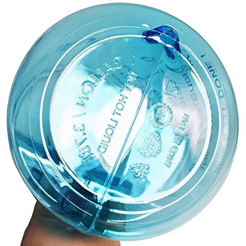 1 Water Inspirational Fitness Water Marker for Your Free Non-Toxic,Leak