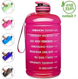 Leakproof BPA Free Fitness Sports Water Bottle with Motivati