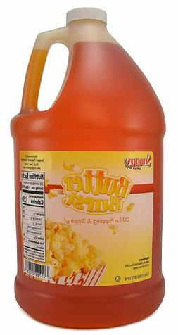 Movie Theater Popcorn Oil Butter Flavor Nutrition 1 Gallon F