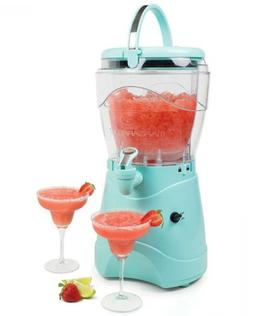 Nostalgia MSB1AQ Margarita & Slush Machine, 1 Gallon, Aqua,