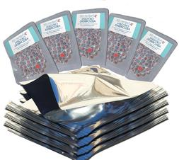 1 Gallon Mylar Foil Bags +  500cc Oxygen Absorbers + FREE L