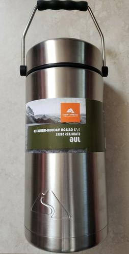 New 1/2 Gallon Vacuum Insulated Stainless Steel Ozark Trail