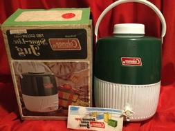 NEW in SEALED BOX . Vintage COLEMAN Snow Lite 2 Gallon Jug C
