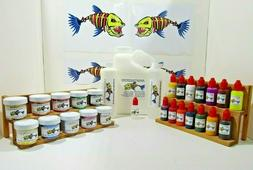NEW PRO BIG STARTER KIT 1 GALLON #1 LURE MAKING KIT MED LIQU