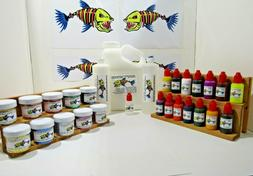 NEW PRO BIG STARTER KIT 1 GALLON 1 LURE MAKING KIT SOFT LIQU