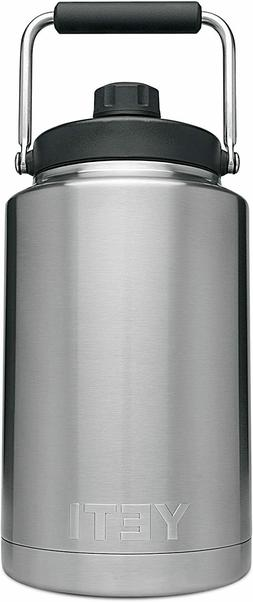 New YETI Rambler One Gallon Jug Stainless Steel 1-3 Day Fast