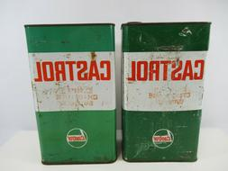 Castrol Oil Can Vintage Canada 1950s Express Chain Lube Summ