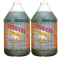 Oxy-Gone Rust Remover & Metal Treatment - 2 gallon case