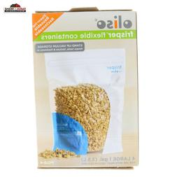 Oliso Pantry Bags MEDIUM 6 count,  6 cup dry capacity   5000