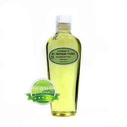 Pure Sweet Almond Oil by Dr.Adorable  Organic 2 oz up to gal