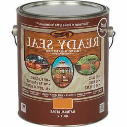 Ready Seal Exterior Wood Stain and Sealer - Natural Cedar, 1