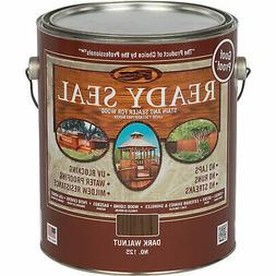 Ready Seal Exterior Wood Stain and Sealer - Dark Walnut, 1 G