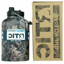RTIC Insulated Water Jug / Bottle 1 Gallon Camouflage, Stays
